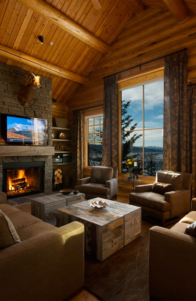 Teton Village Log Home