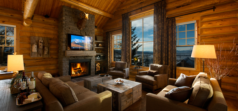 Teton Village Log Home